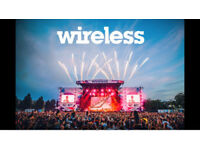 WIRELESS TICKET- SATURDAY 7th JULY 2018 - INCLUDING TRAVEL THERE AND RETURN