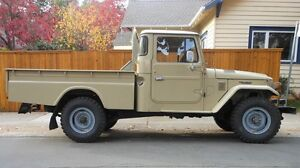 Land cruiser 40 series pickup or jeep WANTED