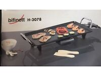Table grill raclette heating serving tray