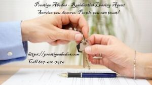 Attention Thunder Bay Landlords - Rental Agent Service