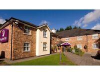 1 Night Family 4 inc Unlimited Buffet Breakfast Premier Inn , Wrexham Fri.,20th Oct BARGAIN £40