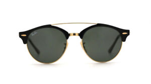 BRAND NEW AUTHENTIC- RayBan Clubround Double Bridge Sunglasses