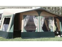 APACHE PROVENCE CARAVAN AWNING WITH 2 ANNEXES AND INNER PODS