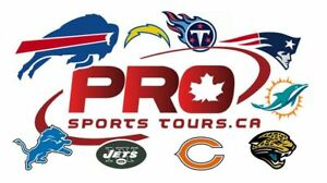 BUFFALO BILLS ALL-INCLUSIVE BUS TRIPS w/ Tailgate Party!
