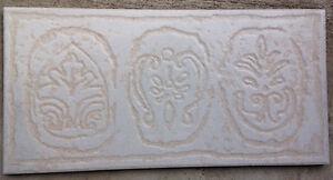 """6""""x12"""" Cream Ceramic Tiles"""