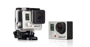 Gopro Hero 3+ silver Mint condition Cambridge Kitchener Area image 1