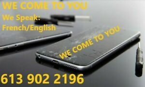 iphone Screen Repair FROM 40$ {5S,6,7,8,X} FREE MOBILE SERVICE