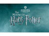 TICKET FOR WARNER BROS. STUDIO TOURS OF HARRY POTTER