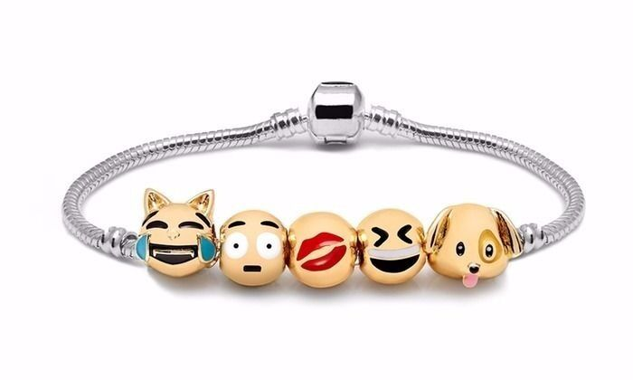 CHILDS EMOJI BRACELET.