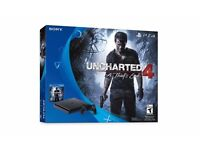 PS4 - Play Station 4 - Brand New Sealed-Uncharted 4 Bundle