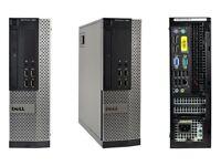 Fast Cheap Dell Optiplex 7020 SFF Desktop PC i5 3.3Ghz 8GB Windows 10