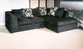 Chenille Fabric Corner Sofa Or 3+2 Sofa Different Colors Available Fas