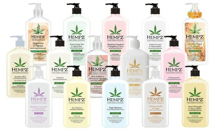 Hempz Herbal Body Moisturizer 17 oz   you choose
