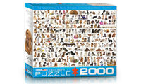 Dogs 2000 Piece Puzzle unopened