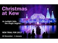 4x Christmas at Kew Tickets. Saturday 23rd December @ 5:40pm Sold Out Time Slot