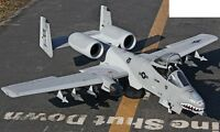 RC A10 Warthog Twin 70mm EDF jet price dropped.