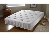 DOUBLE MEMORY FOAM SPRUNG MATTRESS 10 INCHES HUGE OFFER