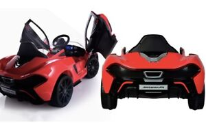 FAMILY DAY SALE MCLAREN P1 KIDS RIDE ON CAR WITH REMOTE