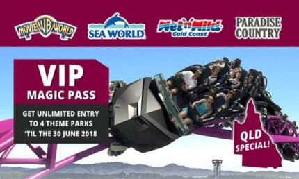 WTB tickets to Gold Coast theme parks