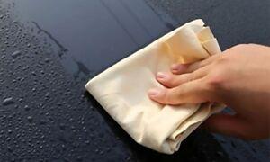 Pelle-di-camoscio-autentica-al-100-per-la-pulizia-FORMATO-GIGANTE-60X81cm
