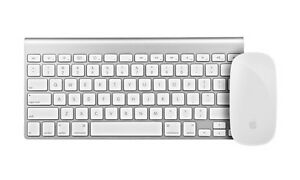 Wireless Apple Magic Keyboard and Mouse