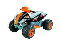 6V Kids Quad Bike Style Ride-On + Battery Charger