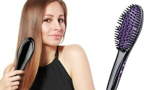 BNIB Hair Straightener, De-tangler and Scalp Massager all in one