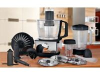 Food Processor | Multi Function Mixer Chopper Juicer Slicer Blender Jug