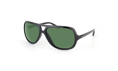 Ray-Ban Aviator Sunglasses w/ Black Frame & Green Polarized Lenses RB4162 601/2P