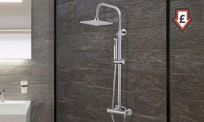 Brand new -still in box contemporary shower