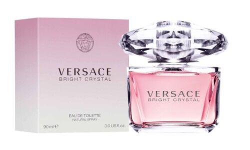 Bright Crystal by Versace 3.0 oz / 90ml Eau de Toilette Perfume Women Brand New