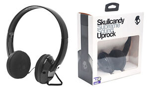 Skullcandy Uprock Over-Ear Headphones - Black-NEW in box