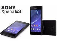 Sony Xperia E3 Android Smart Phone - EE - Black - 4G