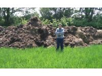 HORSE MANURE - ORGANIC & WELL-ROTTED