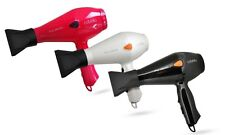 CABELLO PRO 3600 Professional Hair Dryer Black White Red