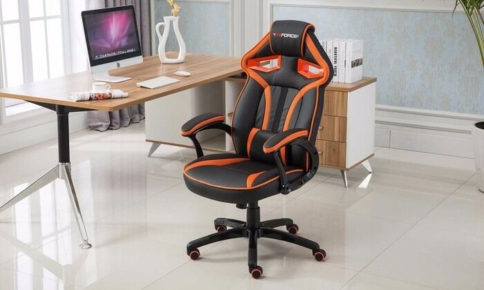 GT Force Roadster RacingStyle ChairOrange In Leicester - Office chairs leicester