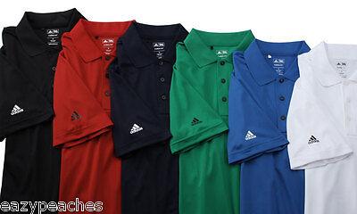 Feuchtigkeit Wicking Golf Polo (Adidas Golf Herren S-3XL Climalite Dri Fit Feuchtigkeit Pique Wicking Polo Sport)