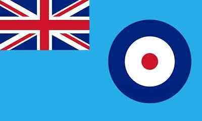 FLAG RAF ROYAL AIR FORCE ENSIGN FLAG 5FT X 3FT