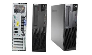 1 Ordinateur Lenovo ThinkCentre M81 M5049 M Series, avec un DVD