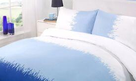 Brand New Dreamscene Pax Duvet Cover Set, Blue, King