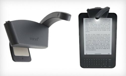 Lightwedge Versa Arc Light Rechargeable E-Readers light,  Bright LED, Black