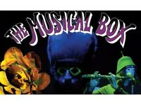 2nd Row Tickets The musical Box, 13 October Birmingham symphony Hall