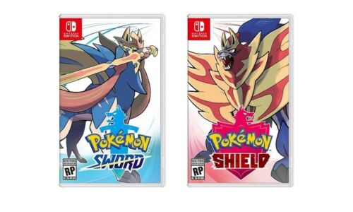 Pokemon Sword or Shield - Nintendo Switch