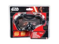 Star Wars Black swim mask goggles official Disney Age 3+ One size fits all NEW ( 24 Pairs ) )