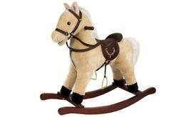 ROCKING Horse with Moving Mouth and Horse Sounds - BOXED
