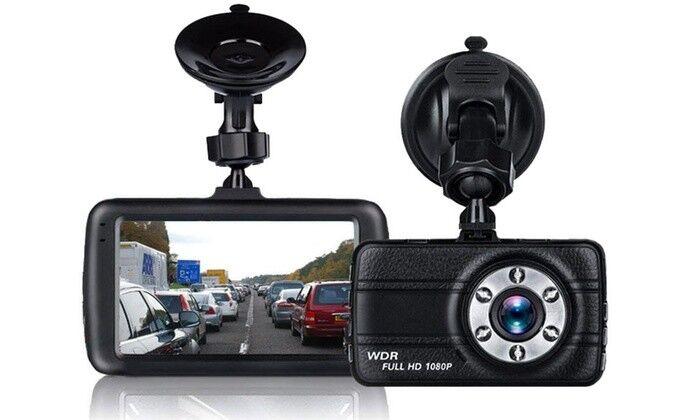3″ Dual Lens 1080P Car DVR Dashboard Camera Video Recorder Dash Cam G-Sensor US Cell Phone Accessories