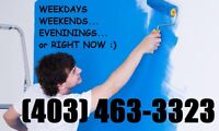 GREAT WORK, GREAT PRICE, GREAT PAINTERS! FREE PAINTING QUOTES!!!