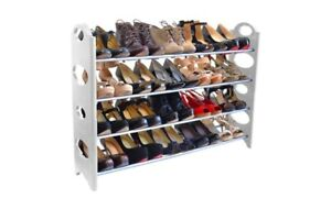 SHOE RACK HOLDS 20 PAIRS