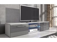 designer TV Cabinet with LED Lighting new