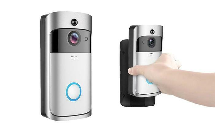 WiFi HD Video Smartphone Door Bell Camera Intercom Security Night Vision in SLV Building & Hardware